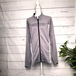 Adidas ClimaWarm Grey Men's Lightweight Jacket - M